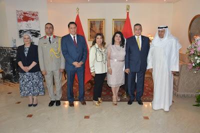 Vidéo- L'ambassadeur Égyptien et son Épouse célèbrent la fête nationale à Rabat- 12 juillet 2019