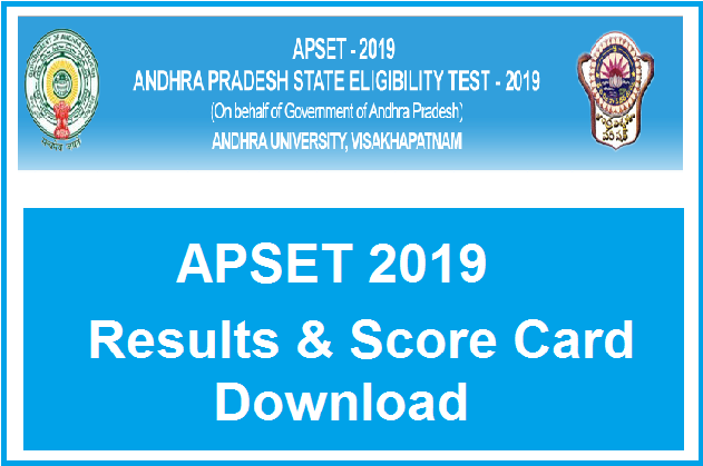 Manabadi APSET Results 2019