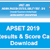 Manabadi APSET Results 2019 APSET 2019 Results Cut Off Marks