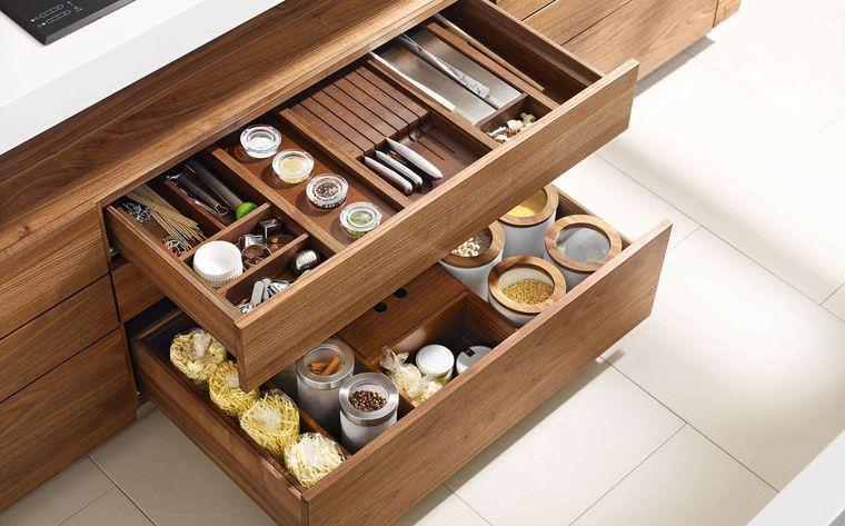Diseño de cocinas - Diseño de cajones modernos de cocina