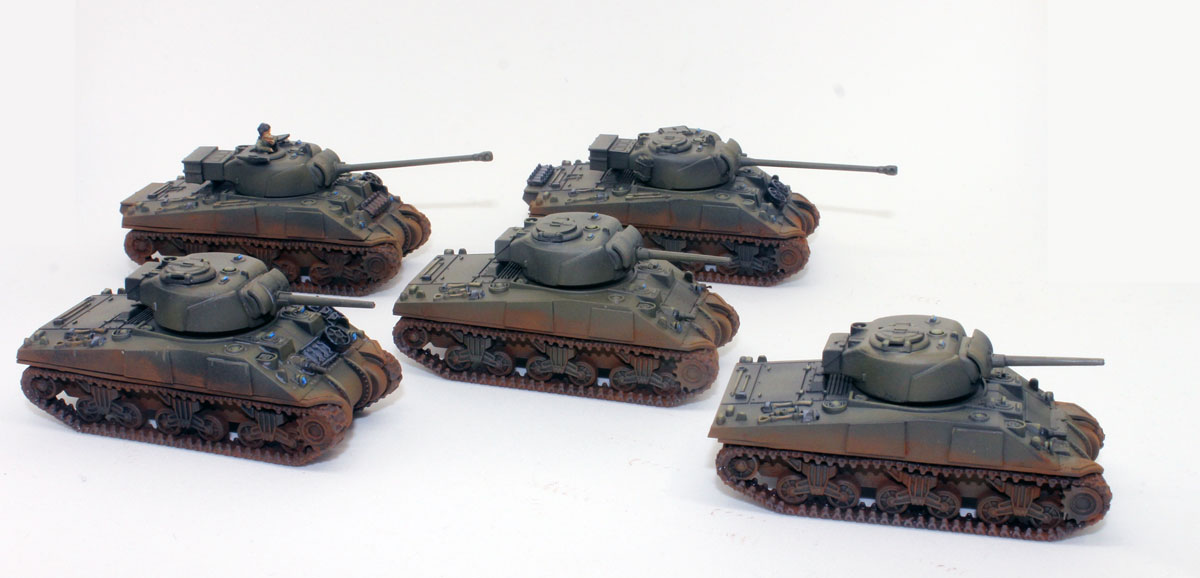The Analogue Hobbies Painting Challenge: From ByronM - 15mm Sherman