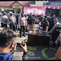 Ratusan Knalpot Bronk Motor Sport Dimusnahkan Polresta Mojokerto