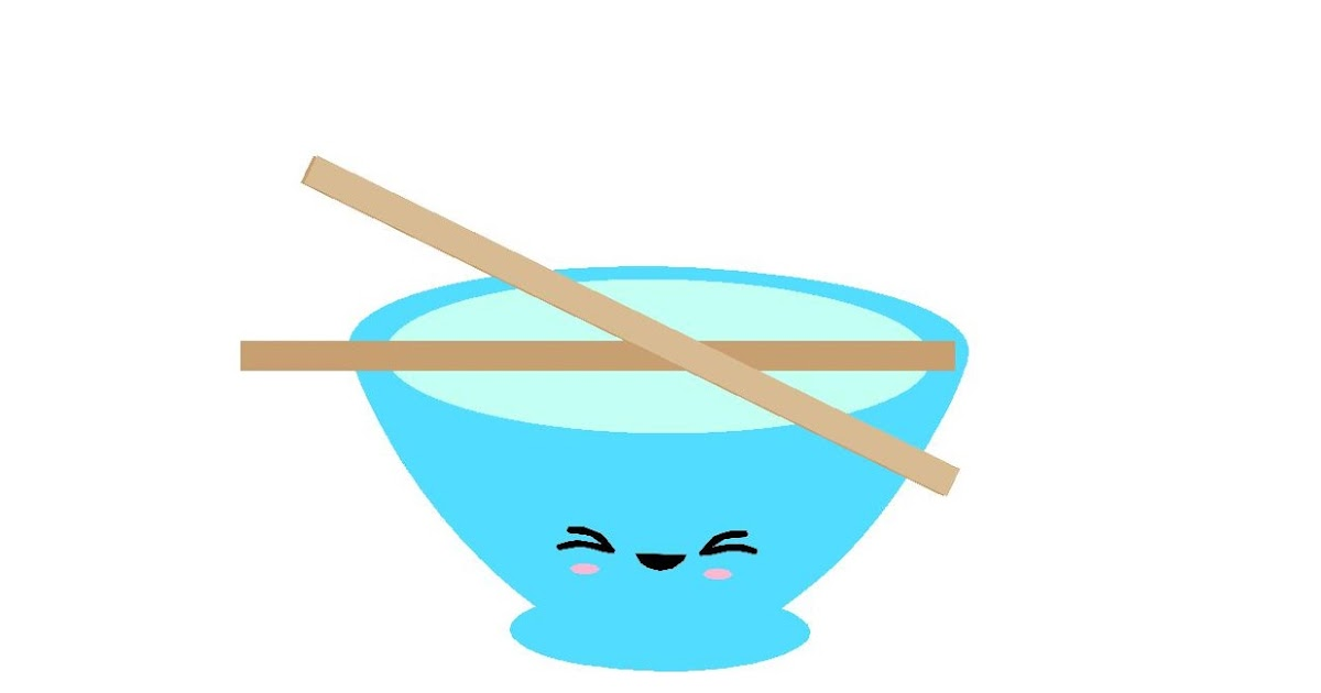 rice clip art closet crafter free kawaii rice bowl silhouette file and svg file