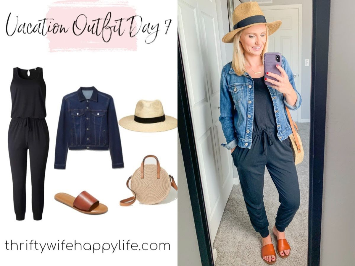 Mom friendly simple summer vacation wardrobe capsule