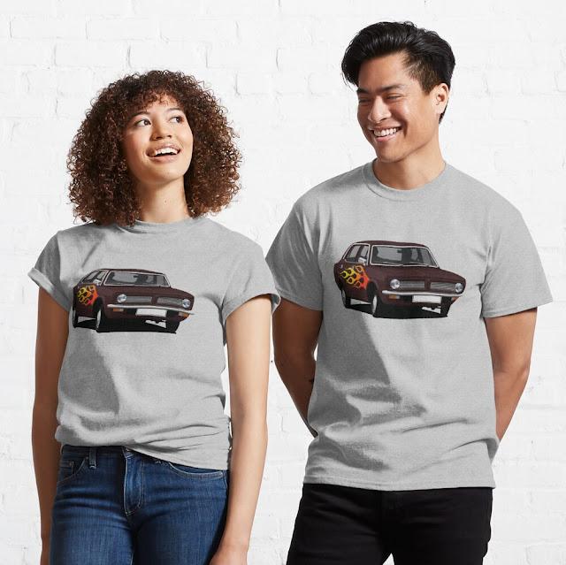Pimped version of Morris Marina T-shirt