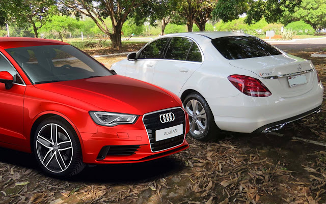 Audi A3 Sedan x Mercedes-Benz Classe C