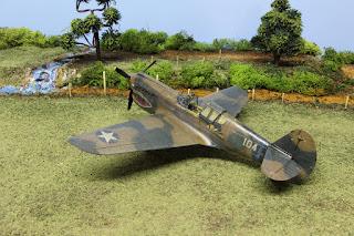 P-40E d'Hasegawa au 1/48.