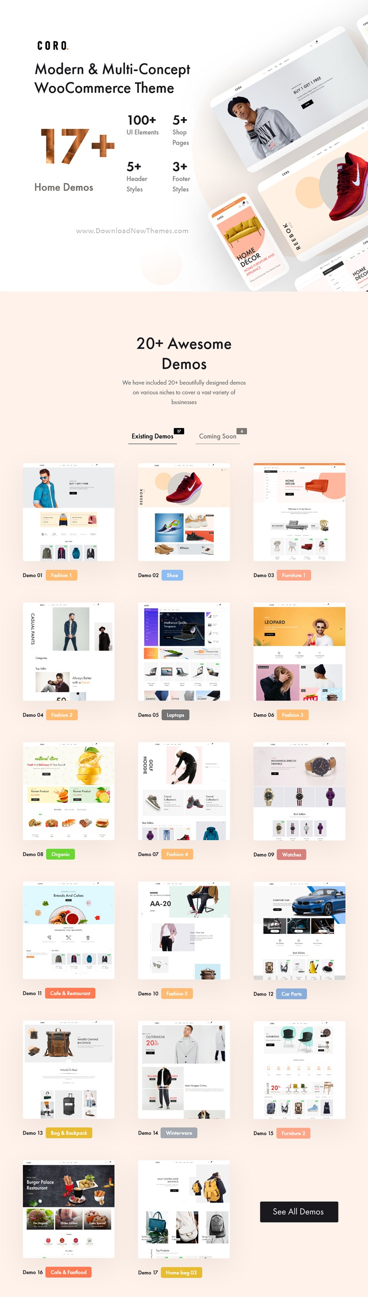 Multipurpose WooCommerce Theme With MultiVendor