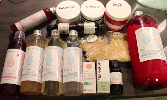 Pan project : Ingrédients cosmétiques maison (Aroma Zone et co)