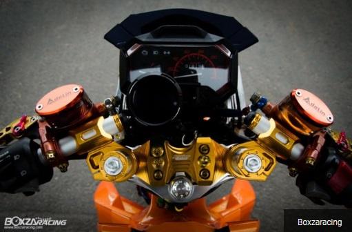 Setang pakai Proking yang aslinya buat Honda PCX