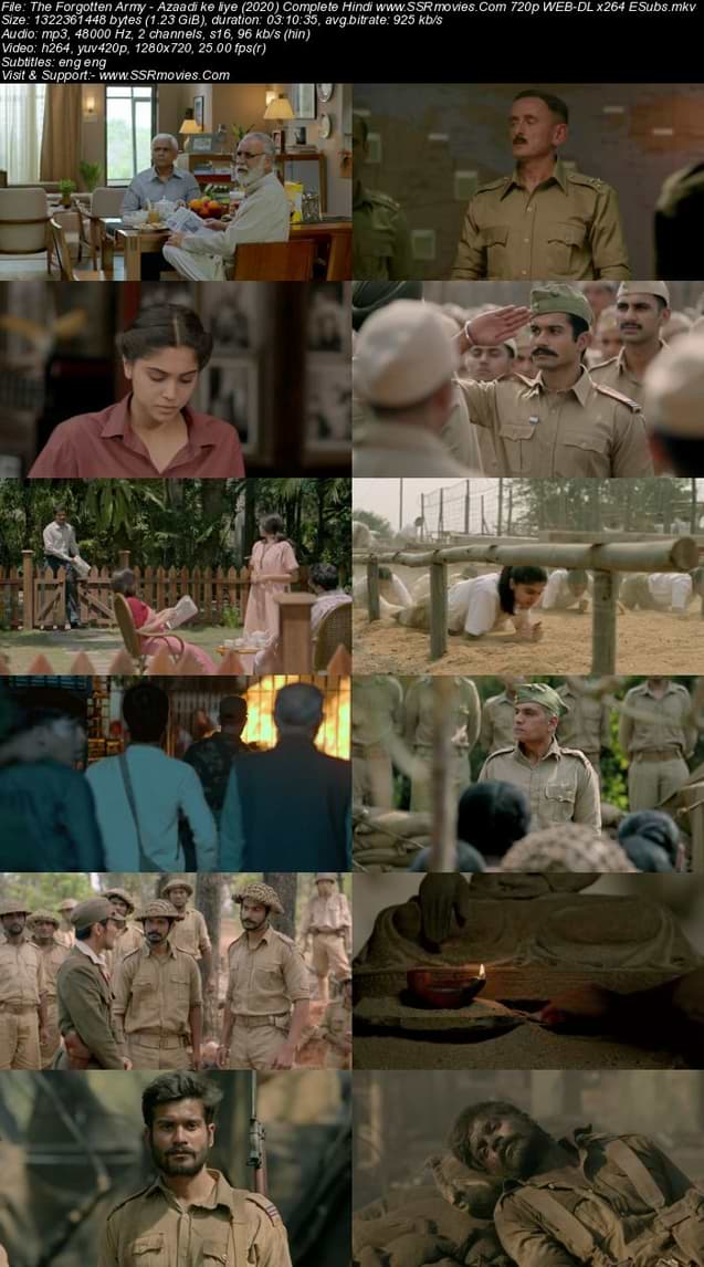 Download The Forgotten Army 720p
