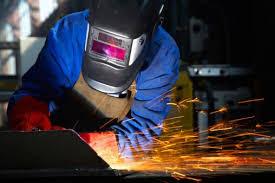 welder on work