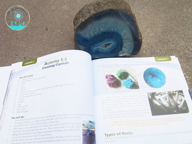 Hands-on activities abound in this earth science curriculum.