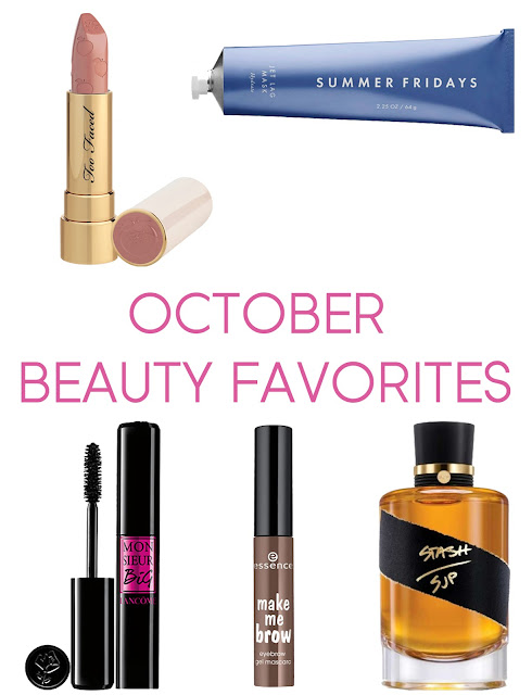 summer fridays-too faced-lipstick-beauty-beauty favorites-essence-brow mascara-lancome-mascara