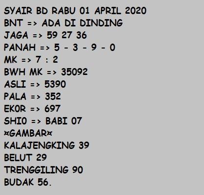 Kode syair bnt singapore