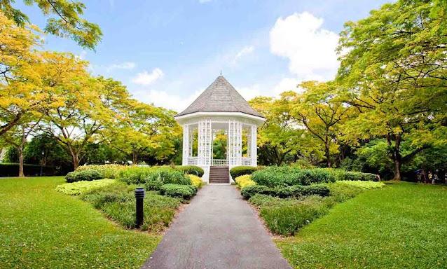 10. Singapore Botanic Gardens