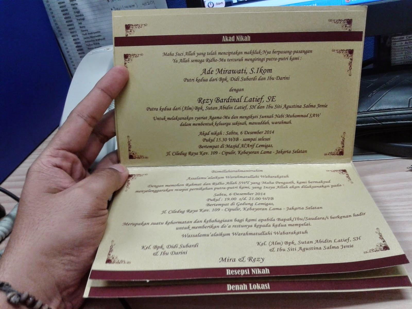 Rezy Bardinal Latif Catatan Harian Musisi Galau Hunting Undangan