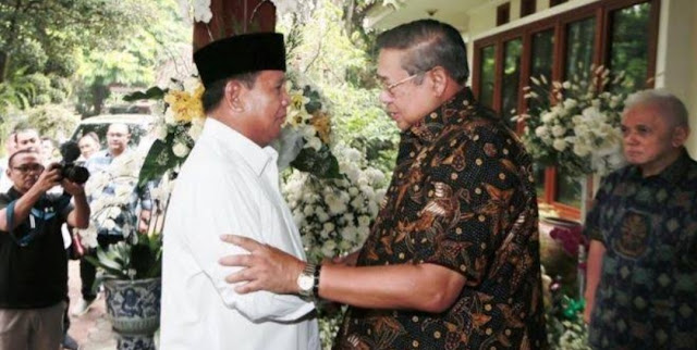SBY Keberatan Prabowo Ungkap Pilihan Ani Yudhoyono Saat Pilpres