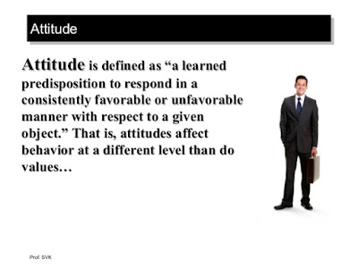 Meaning And Definition Of Attitude
