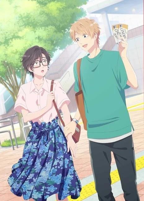 """La nueva OVA de Wotakoi """"Otaku ni Koi wa Muzukashii"""" muestra nueva imagen."""