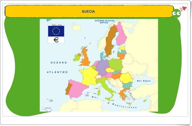 """""""Mapa de la Unión Europea"""" (Juego de Geografía)"""
