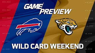 Bills Jaguars NFL Wild Card Weekend Simulation