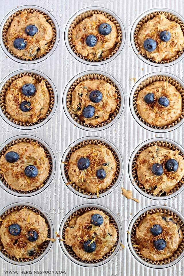 Blueberry Sour Cream Muffins Recipe