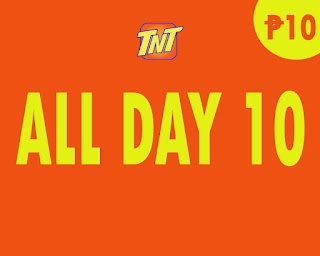TNT All Day 10 – 100MB data with up to 2GB limit for 1 day