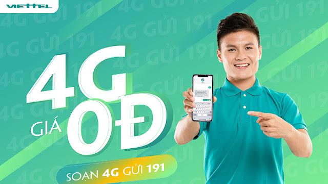 Hướng dẫn cách nhận Data 4G Viettel free - cơ hội trúng vàng