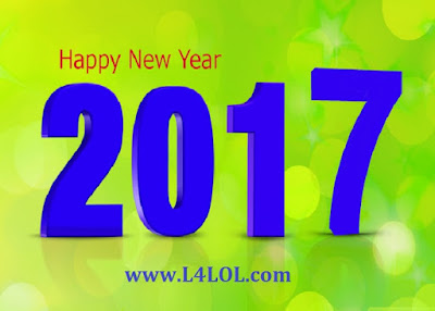 2017 New Year Top New Greetings