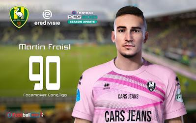PES 2021 Faces Martin Fraisl by CongNgo