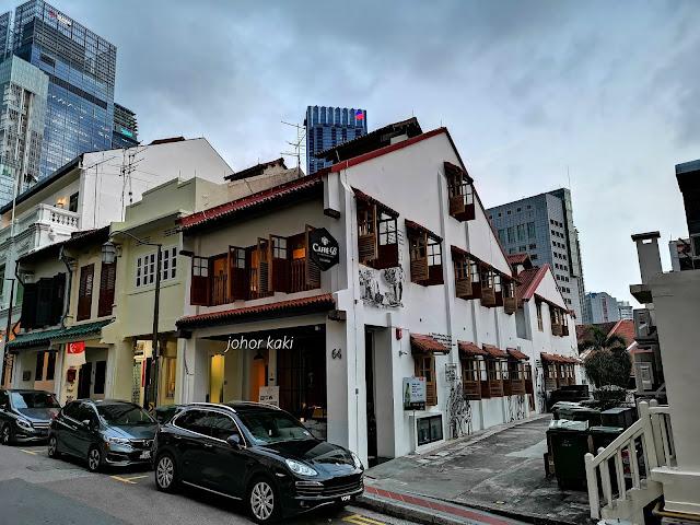 Caffé B Japanese Italian Omakase @ Club Street Singapore