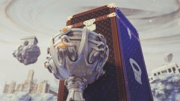 Louis Vuitton a créé le nouvel etui à trophées pour League Of Legends