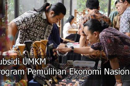 Cara Mengecek Subsidi UMKM program Pemulihan Ekonomi Nasional (PEN)