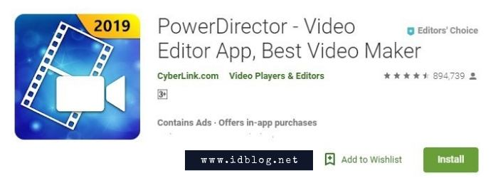 Powerdirector Video Editor Android