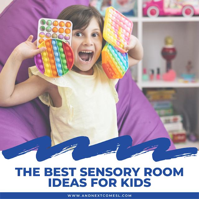 Ideas for a sensory room for kids