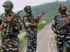 CRPF Squad Body For patrolling