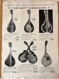 Rotary mandolins