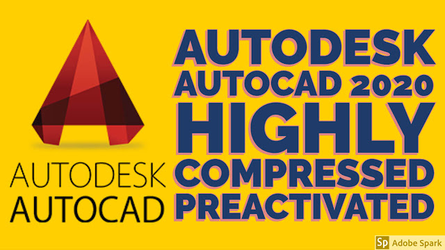 Autodesk Autocad 2020 Crack Highly Compressed Full Version