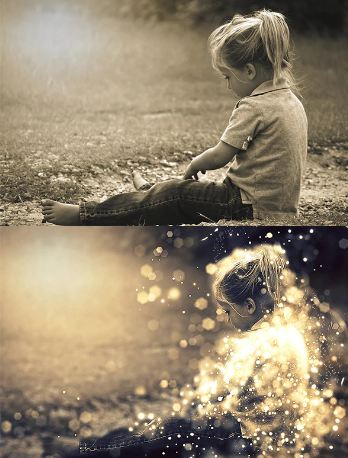 Shimmer Photoshop Action Download Free