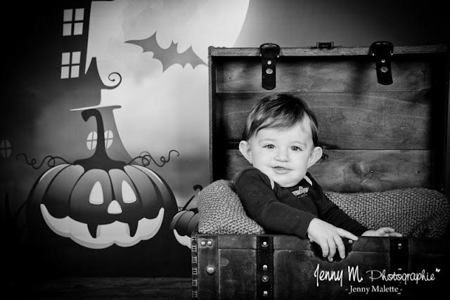photographe bébé halloween vendée 85