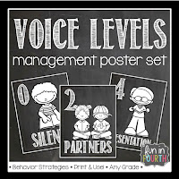 https://www.teacherspayteachers.com/Product/Voice-Level-Management-Posters-Chalkboard-Themed-1385643