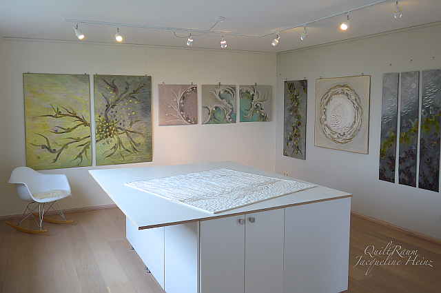 Atelier, Quilt-Studio und Arbeitsraum von Jacqueline Heinz Wolfenbüttel
