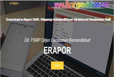 Download e-Rapor SMP, Ditpsmp-Kemendikbud-Direktorat Pembinaan SMP