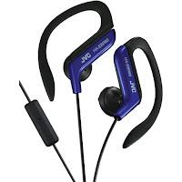 ivc ear clip on headphones