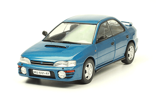 Subaru Impresa WRX 1992 coches inolvidables salvat