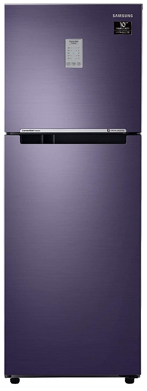 Samsung 253L 2 Star Inverter Frost Free Double Door Refrigerator
