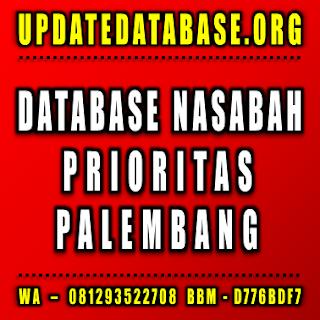 Jual Database Nasabah Prioritas Palembang