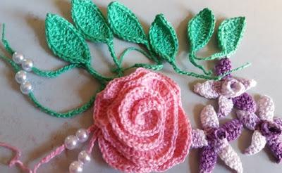 Chapéu de menina flor