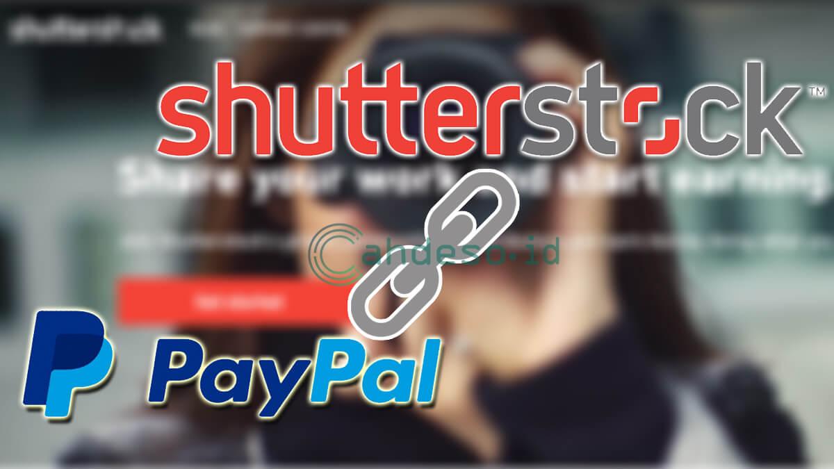 Menghubungkan Shutterstock dengan Paypal